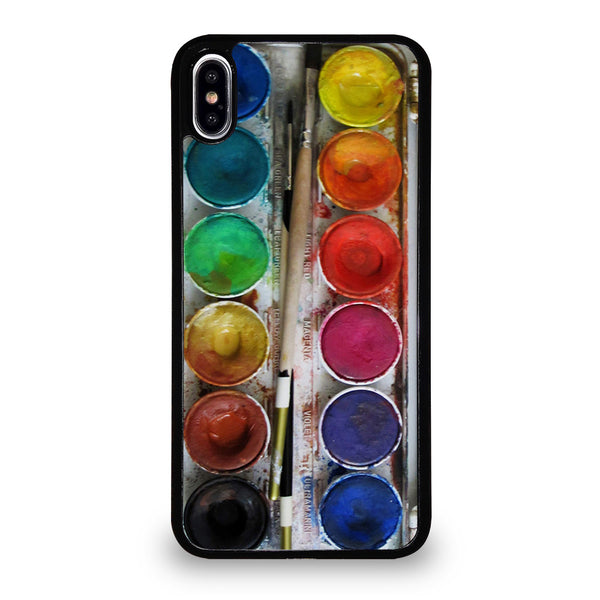 PAINT BOX WATERCOLOR iPhone XS Max Case