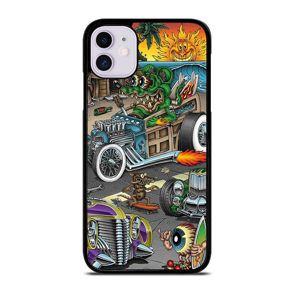 RAT FINK SPEEDLESS #2 iPhone 11 Case