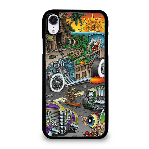 RAT FINK SPEEDLESS #2 iPhone XR Case