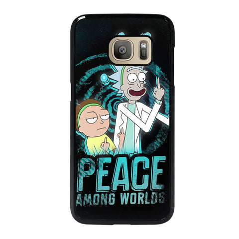 RICK AND MORTY PEACE AMONG WORLDS Samsung Galaxy S7 Case