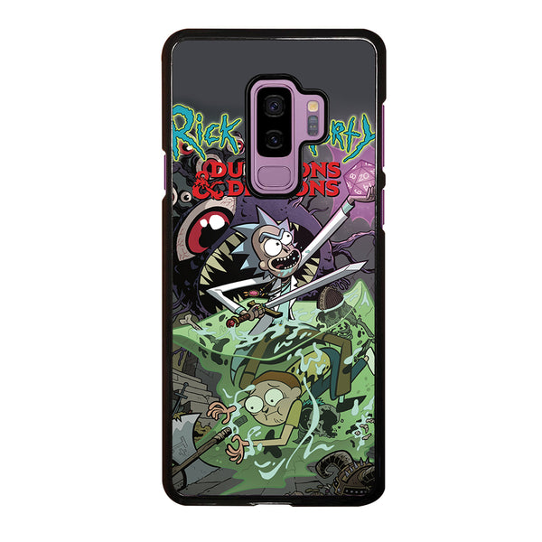 RICK AND MORTY VS DUNGEONS DRAGONS Samsung Galaxy S9 Plus Case