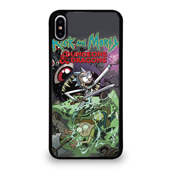 RICK AND MORTY VS DUNGEONS DRAGONS iPhone XS Max Case