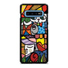 ROMERO BRITTO CAT LOVE Samsung Galaxy S10 Plus Case