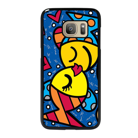 ROMERO BRITTO FISH LOVE 1 Samsung Galaxy S7 Case