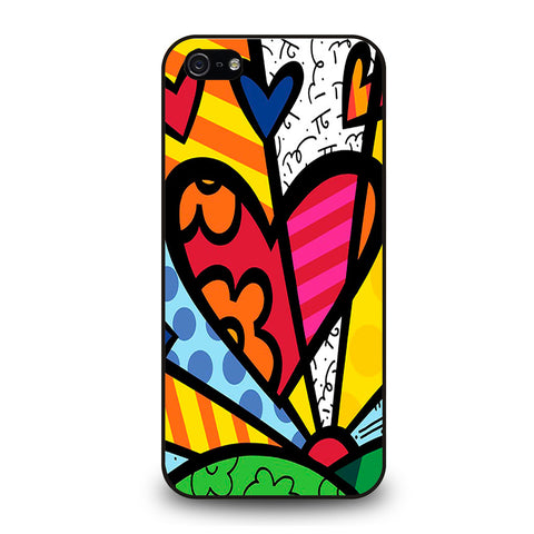 ROMERO BRITTO LOVE #1 iPhone 5/5S/SE Case