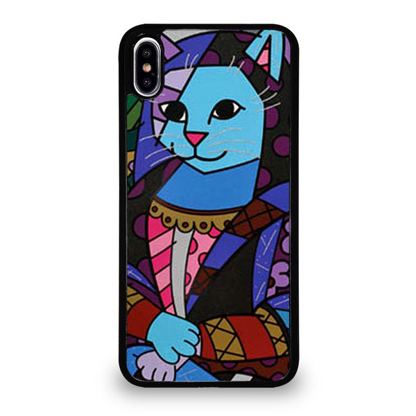 ROMERO BRITTO MONALISA iPhone XS Max Case