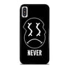 SAM COLBY BROCK NEVER LOGO iPhone X / XS Case