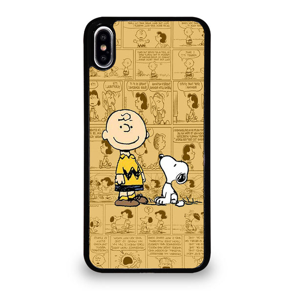 SNOOPY CHARLIE BROWN iPhone XS Max Case