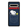 SNOOPY POCKET AND FRIENDS Samsung Galaxy S10 5G Case
