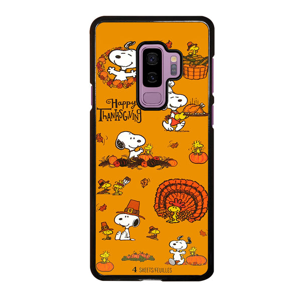 SNOOPY THANKSGIVING Samsung Galaxy S9 Plus Case