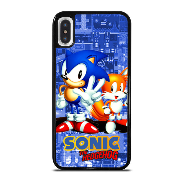 SONIC THE HEDGEHOG AND TAILS #1 iPhone X / XS Case