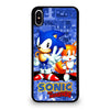 SONIC THE HEDGEHOG AND TAILS #1 iPhone XS Max Case