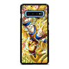 SON GOKU AND SHENRON 1 Samsung Galaxy S10 Plus Case