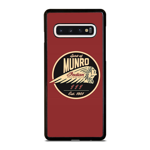 SPIRIT OF MUNRO INDIAN MOTORCYCLE Samsung Galaxy S10 Case