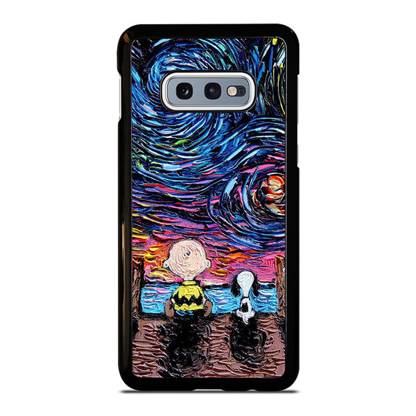STARRY NIGHT CHARLIE BROWN Samsung Galaxy S10 e Case