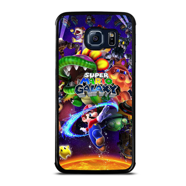 SUPER MARIO GALAXY #3 Samsung Galaxy S6 Edge Case