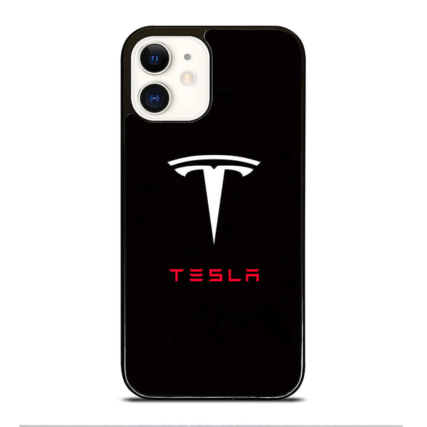 TESLA MOTOR LOGO #3 iPhone 12 Case