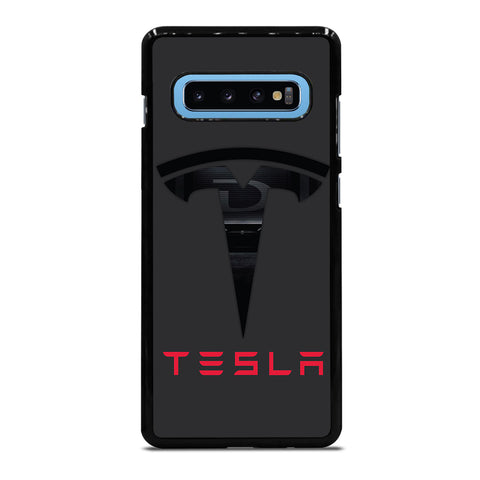 TESLA LOGO Samsung Galaxy S10 Plus Case