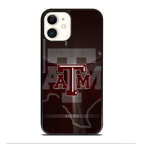 TEXAS A&M AGGIES iPhone 12 Case