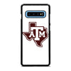 TEXAS A&M FOOTBALL LOGO Samsung Galaxy S10 Plus Case