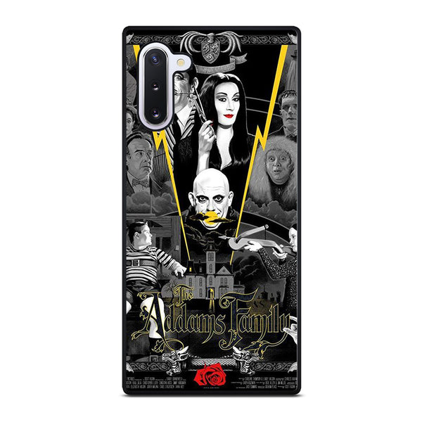 THE ADDAMS FAMILY POSTER Samsung Galaxy Note 10 Case