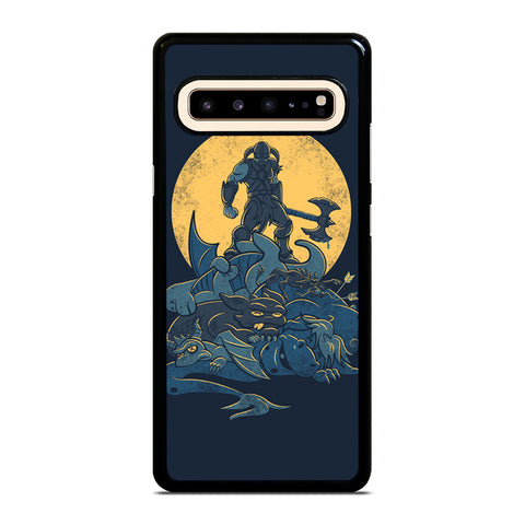 THE ELDER SCROLLS V SKYRIM DRAGON Samsung Galaxy S10 5G Case