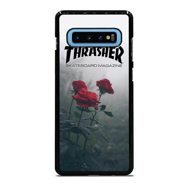 THRASHER ROSES FLOWER Samsung Galaxy S10 Plus Case