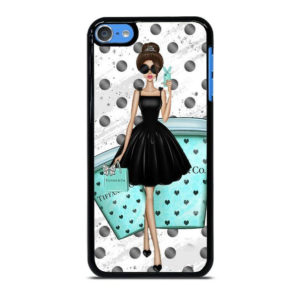 TIFFANY AND COFFEE iPod Touch 7 Case