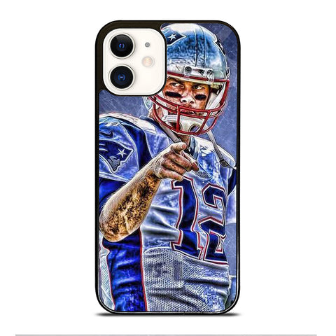TOM BRADY NEW ENGLAND PATRIOTS NFL 4 iPhone 12 Case