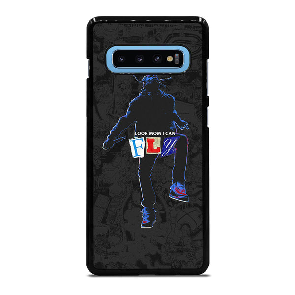 TRAVIS SCOTT I CAN FLY MOM Samsung Galaxy S10 Plus Case