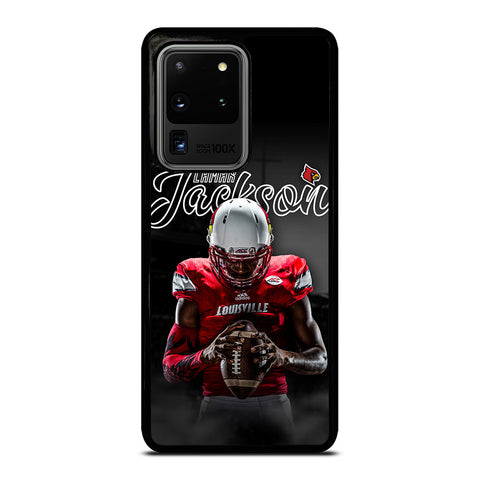 UNIVERSITY OF LOUISVILLE LAMAR JACKSON Samsung Galaxy S20 Ultra Case