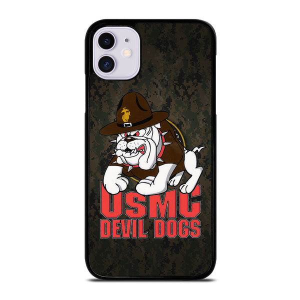 USMC MARINE DEVIL DOGS iPhone 11 Case