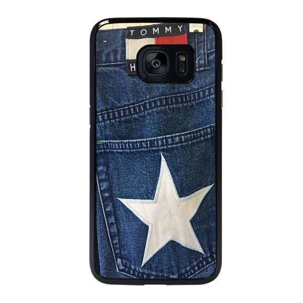 VINTAGE 90s TOMMY HILFIGER DENIM Samsung galaxy s7 edge Case