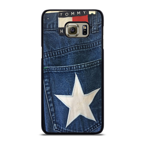 VINTAGE 90s TOMMY HILFIGER DENIM Samsung Galaxy S6 Edge Plus Case