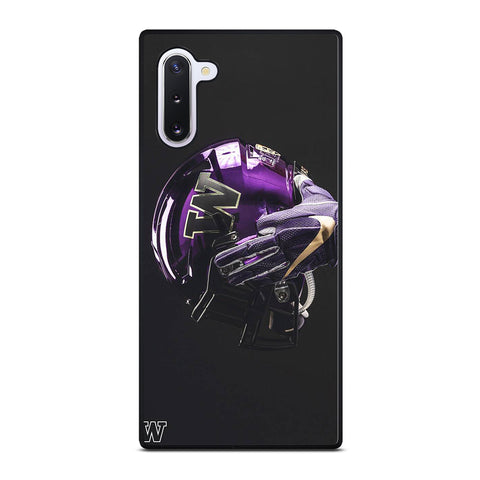 WASHINGTON HUSKIES LOGO 2 Samsung Galaxy Note 10 Case