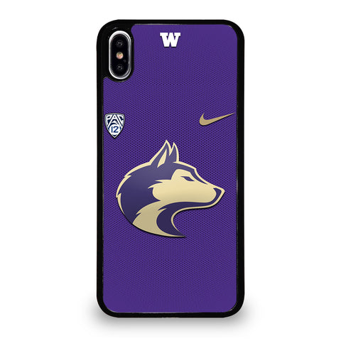 WASHINGTON HUSKIES LOGO 3 iPhone XS Max Case