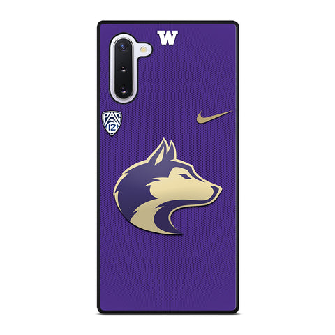 WASHINGTON HUSKIES LOGO 3 Samsung Galaxy Note 10 Case