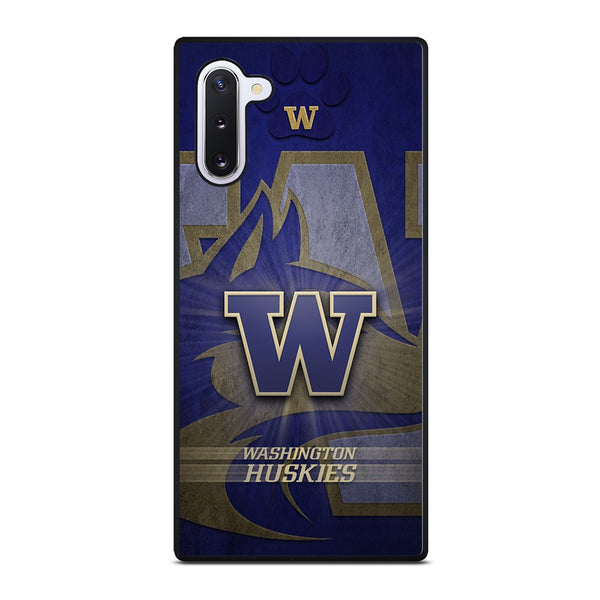 WASHINGTON HUSKIES LOGO Samsung Galaxy Note 10 Case
