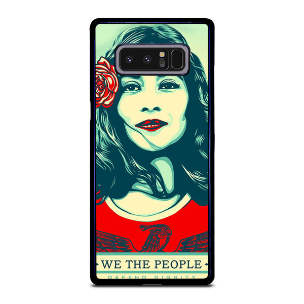 WE THE PEOPLE DEFEND THE DIGNITY Samsung Galaxy Note 8 Case
