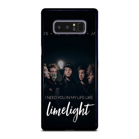 WHY DONT WE LIMELIGHT Samsung Galaxy Note 8 Case
