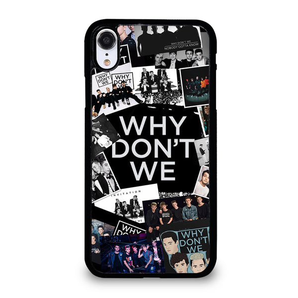 WHY DONT WE COLLAGE #3 iPhone XR Case