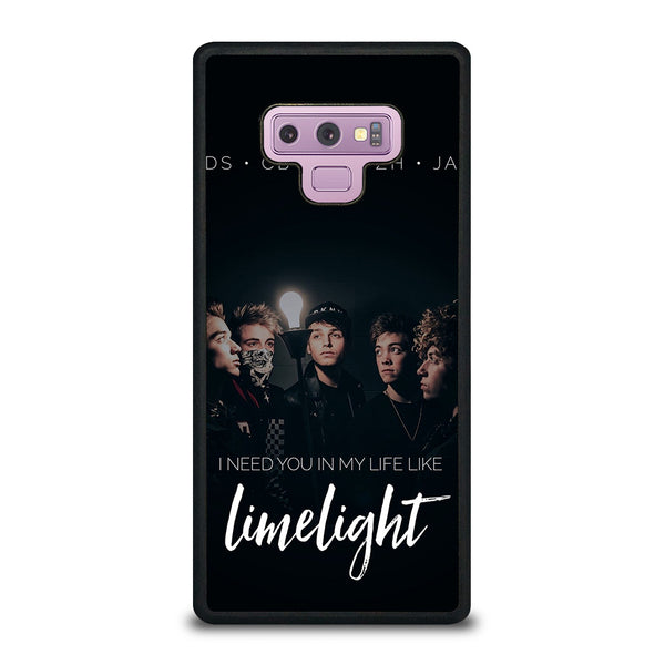 WHY DONT WE LIMELIGHT Samsung Galaxy Note 9 Case