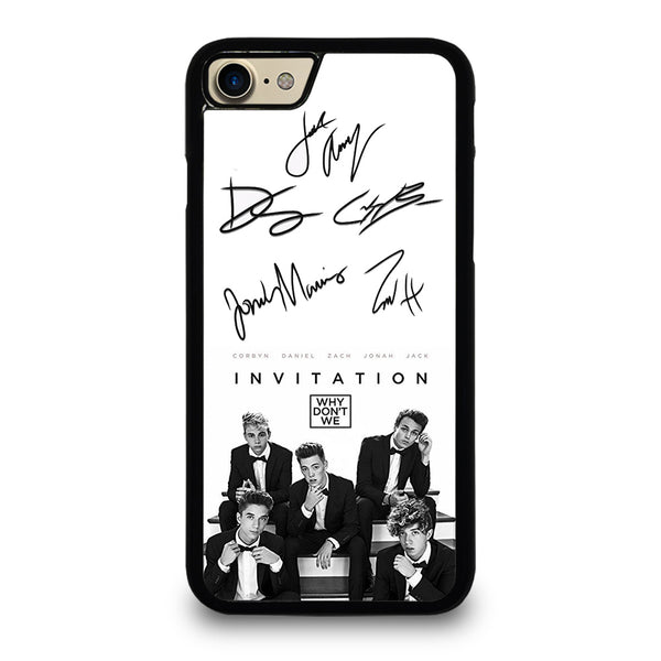 WHY DON'T WE SIGNATURE iPhone 7 / 8 Case