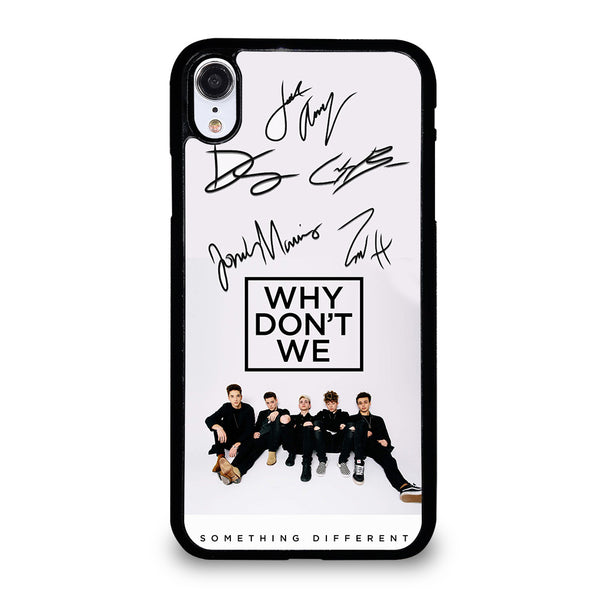 WHY DON'T WE SIGNATURE #1 iPhone XR Case