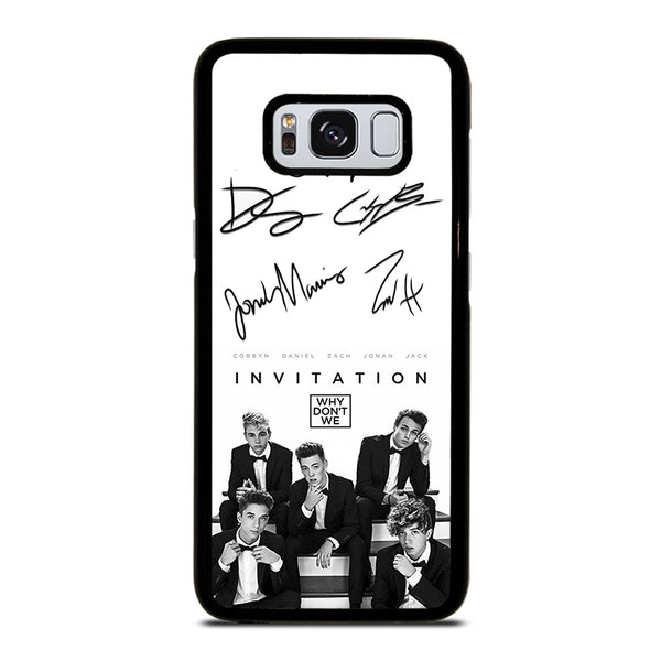 WHY DON'T WE SIGNATURE Samsung Galaxy S8 Case
