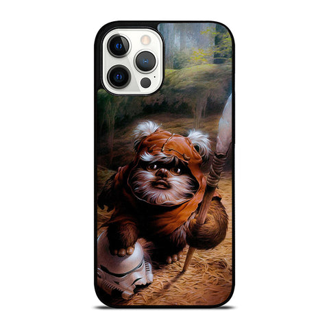WICKET EWOK JEDI STAR WARS #1 iPhone 12 Pro Max Case