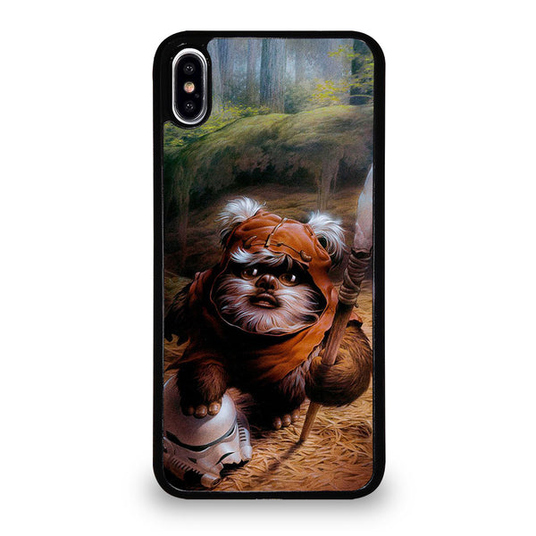 WICKET EWOK JEDI STAR WARS #1 iPhone XS Max Case