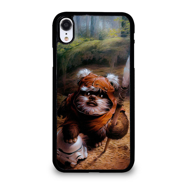 WICKET EWOK JEDI STAR WARS #1 iPhone XR Case
