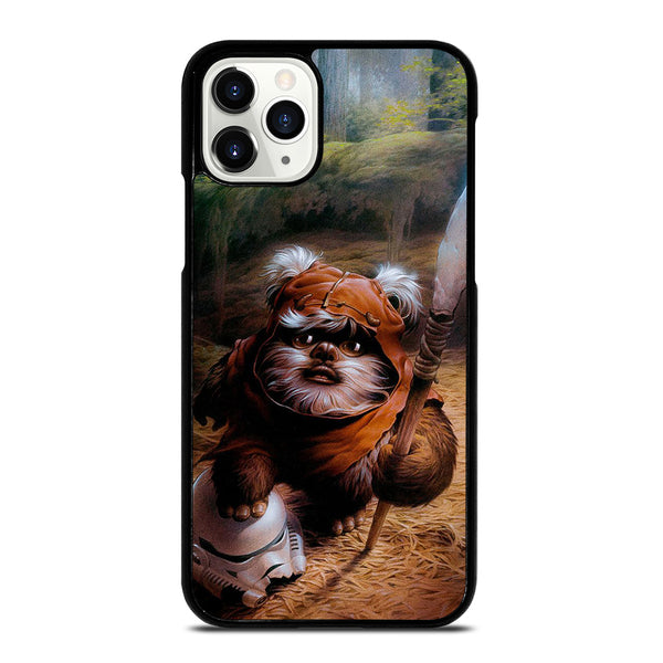 WICKET EWOK JEDI STAR WARS #1 iPhone 11 Pro Case