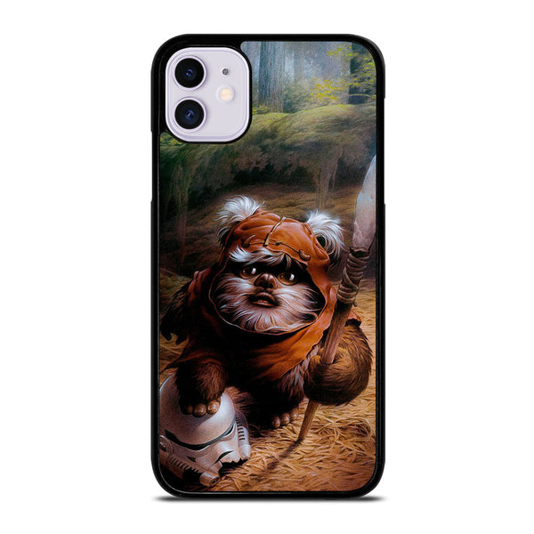 WICKET EWOK JEDI STAR WARS 1 iPhone 11 Case